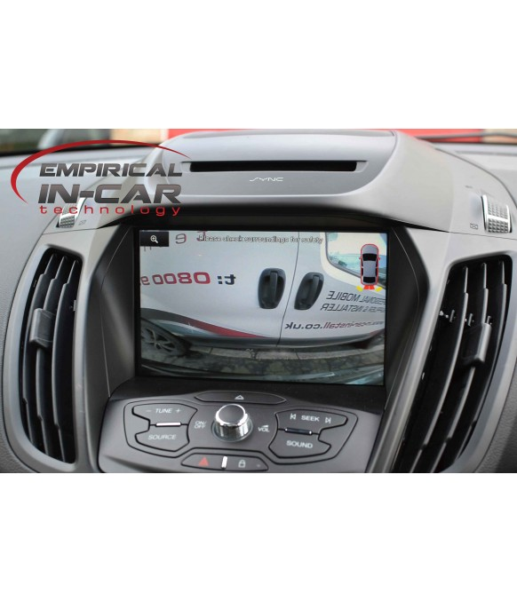 Ford Sync2 and Sync3 - Reversing Reverse Camera kit