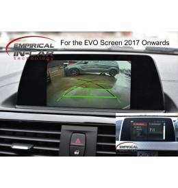 BMW 1 Series F20 ( 2017 Onwards ) Reverse Reversing Camera Kit - Evo Screen