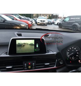 BMW X1 F48 - Front & Rear Reverse Reversing Camera - 2017 onwards EVO screen