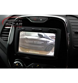 Renault Captur - Reverse Reversing Camera Kit - 2013 Onwards