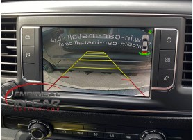 Vauxhall Opel Vivaro - Reverse Reversing Camera Kit ( 2019 Onwards ) Number Plate Camera