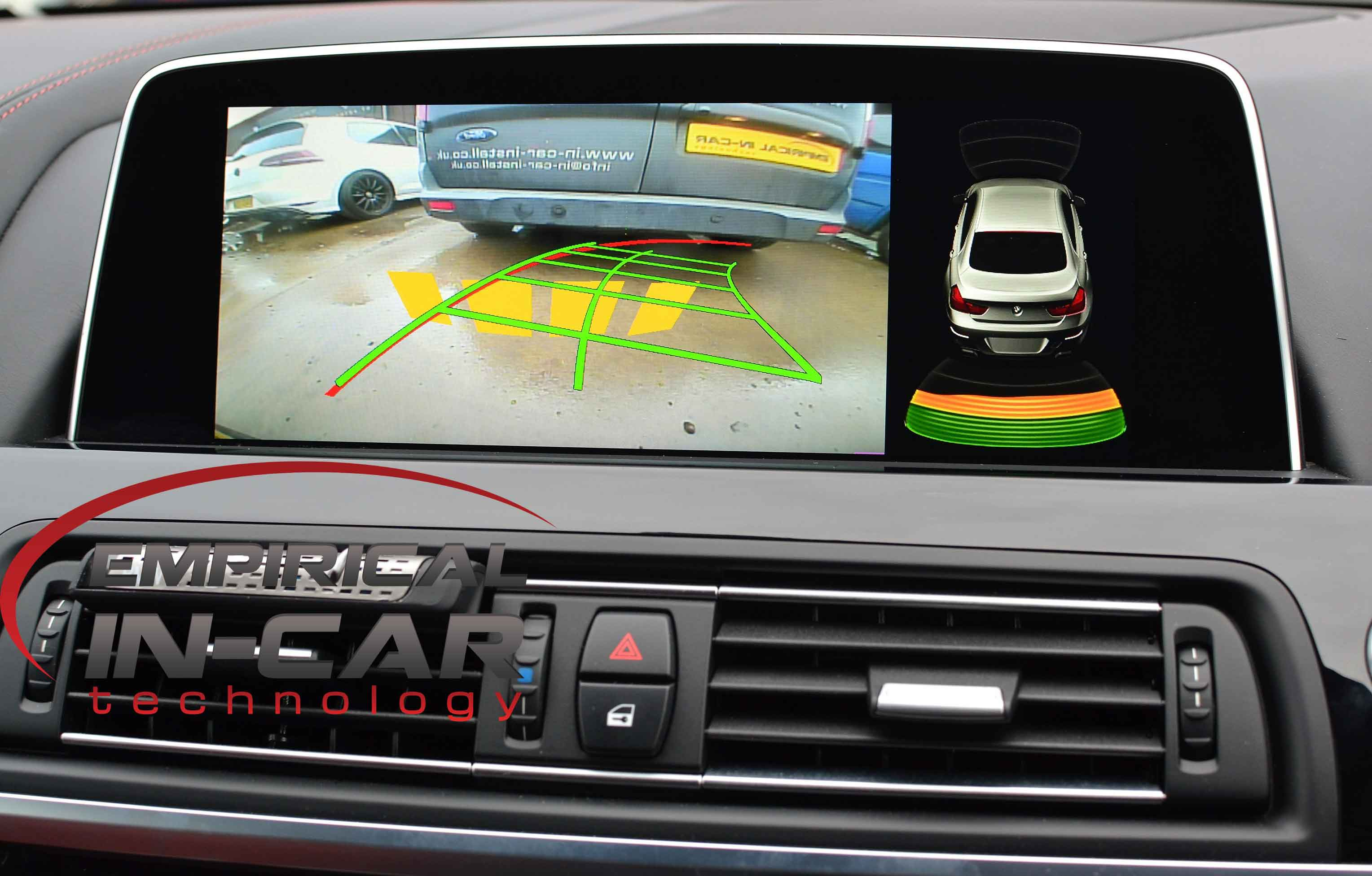 BMW 6 Series ( 2015 ) Reverse Camera Retrofit