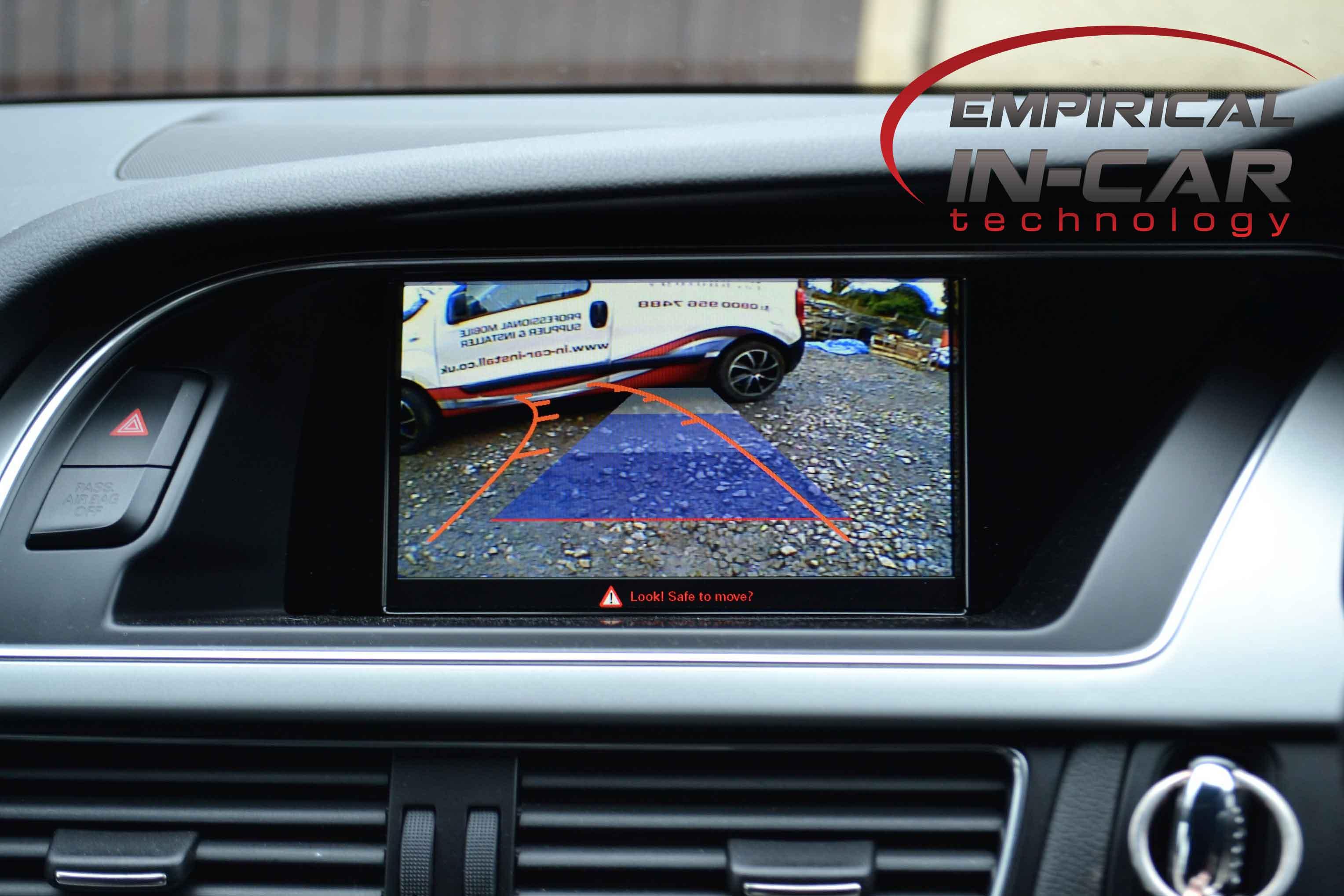 Audi reverse camera