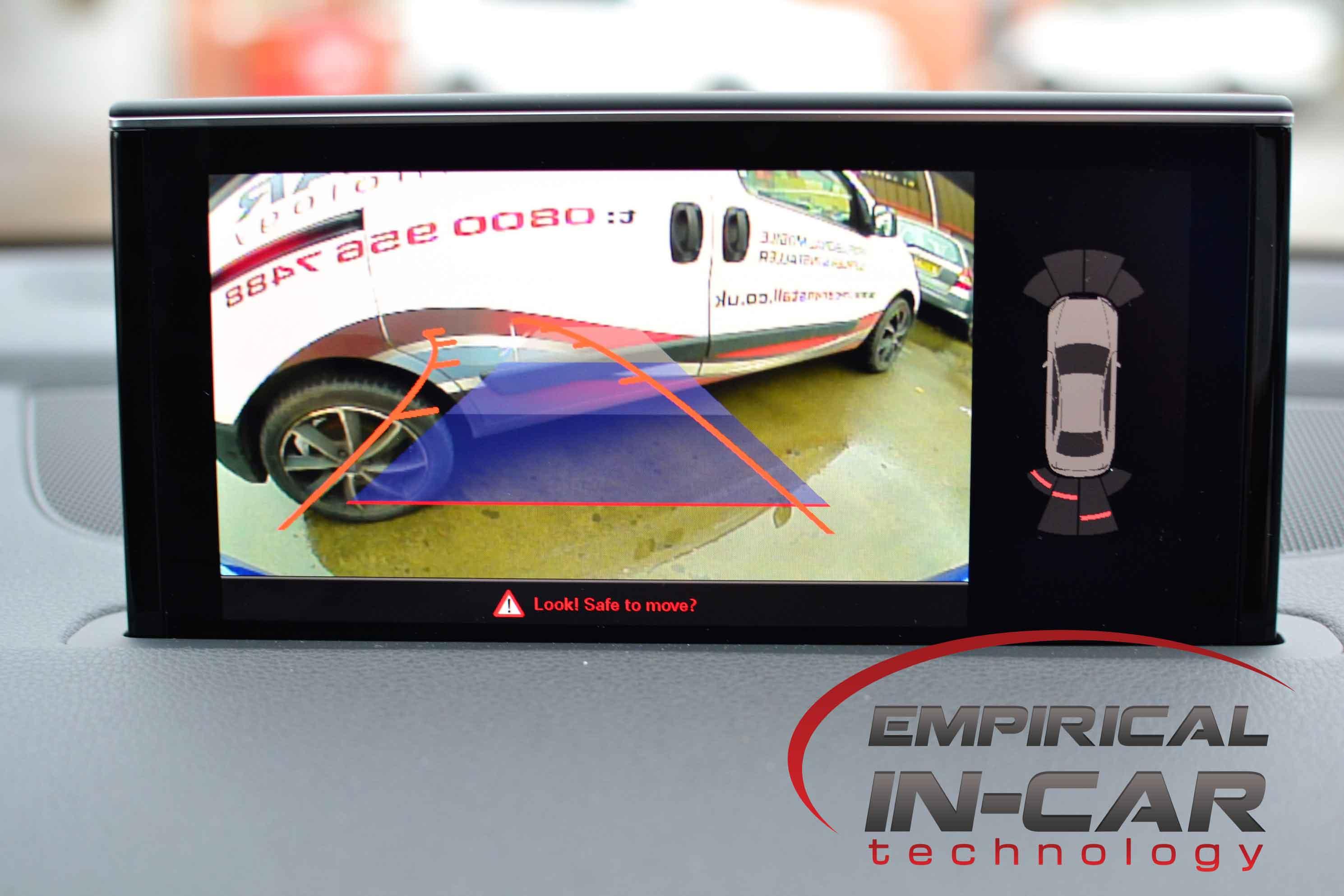 Audi Q7 (2017) Reverse Camera Retrofit