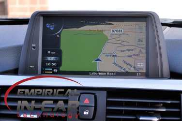 BMW 3 Series Touchscreen Navigation Retrofit