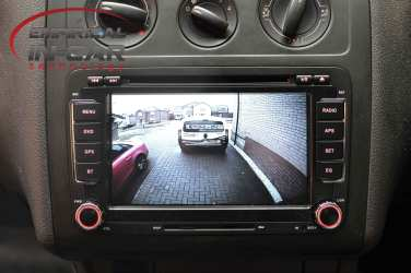 Volkswagen Caddy Navigation camera retrofit