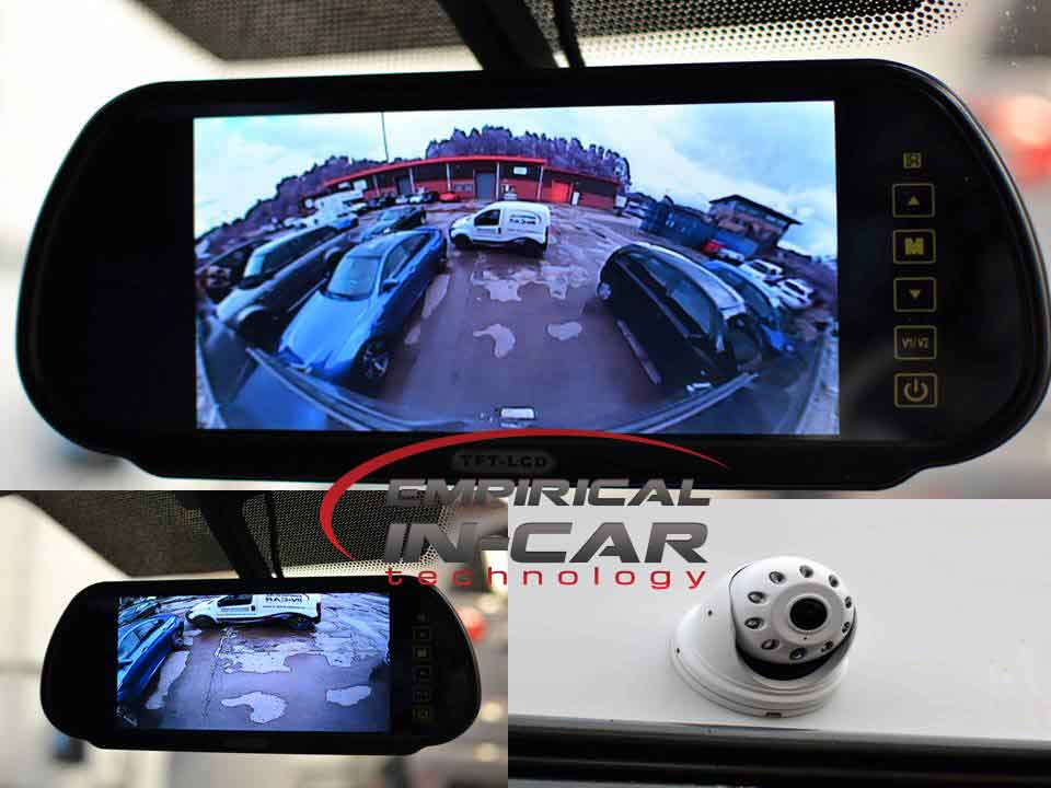 Motorhome Fish Eye Reversing Camera
