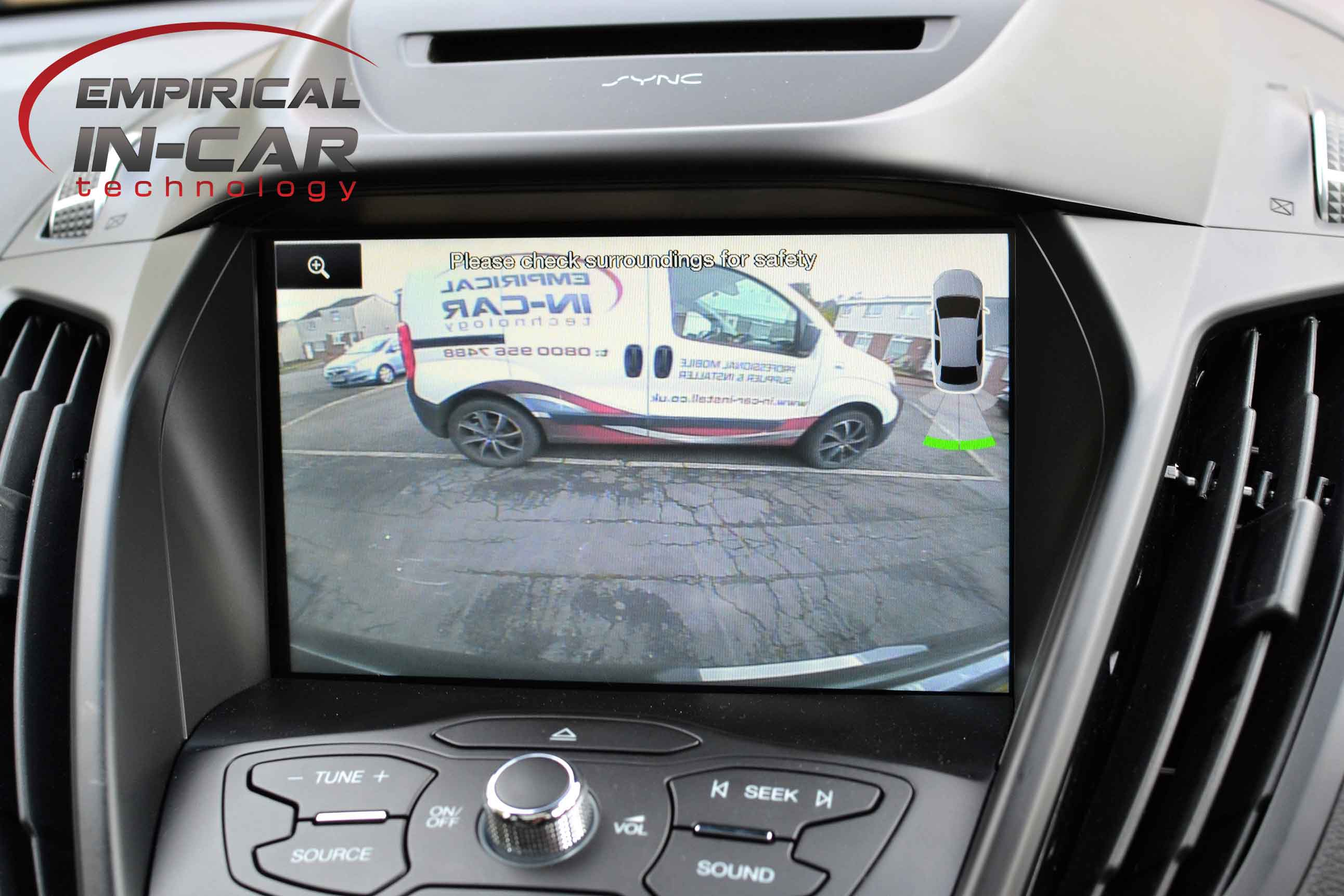 Ford SYNC 2 & 3 Reverse Camera Retrofit