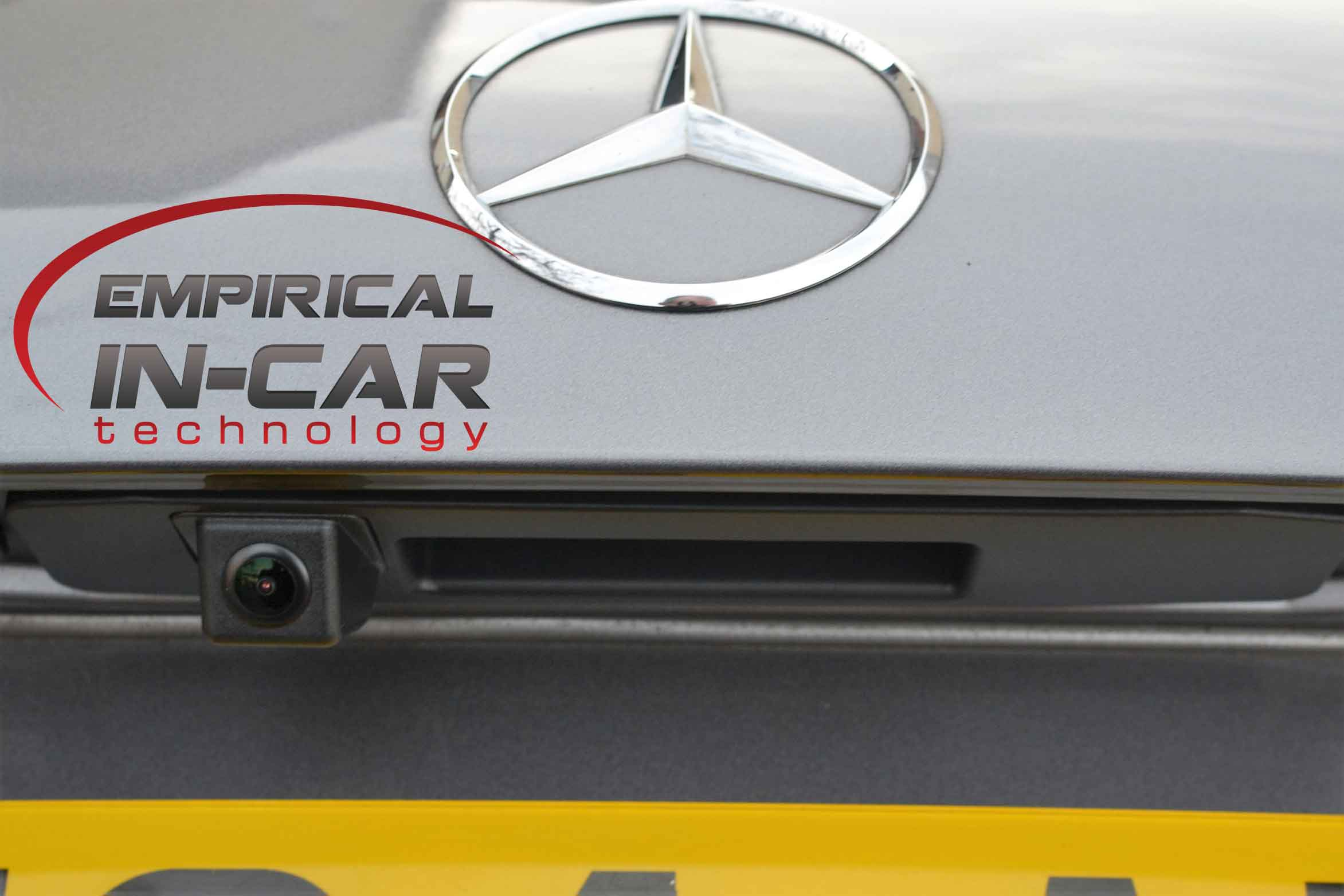 Mercedes Tailgate camera Retrofit