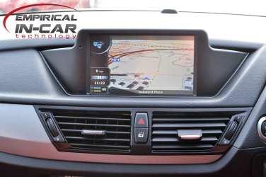 BMW X1 Sat Nav Retrofit