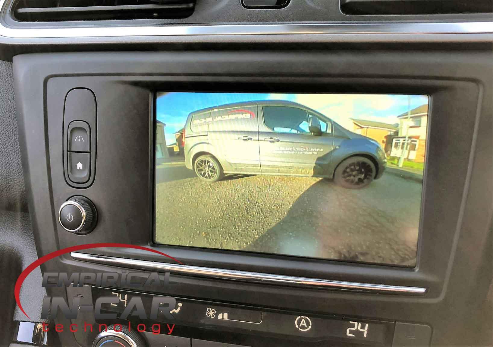 Renault Kadjar Reverse Camera Retrofit