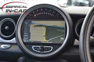 Mini R56 Navigation Head Unit Retrofit