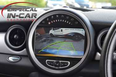 Mini R56 Rear Camera Head Unit Retrofit