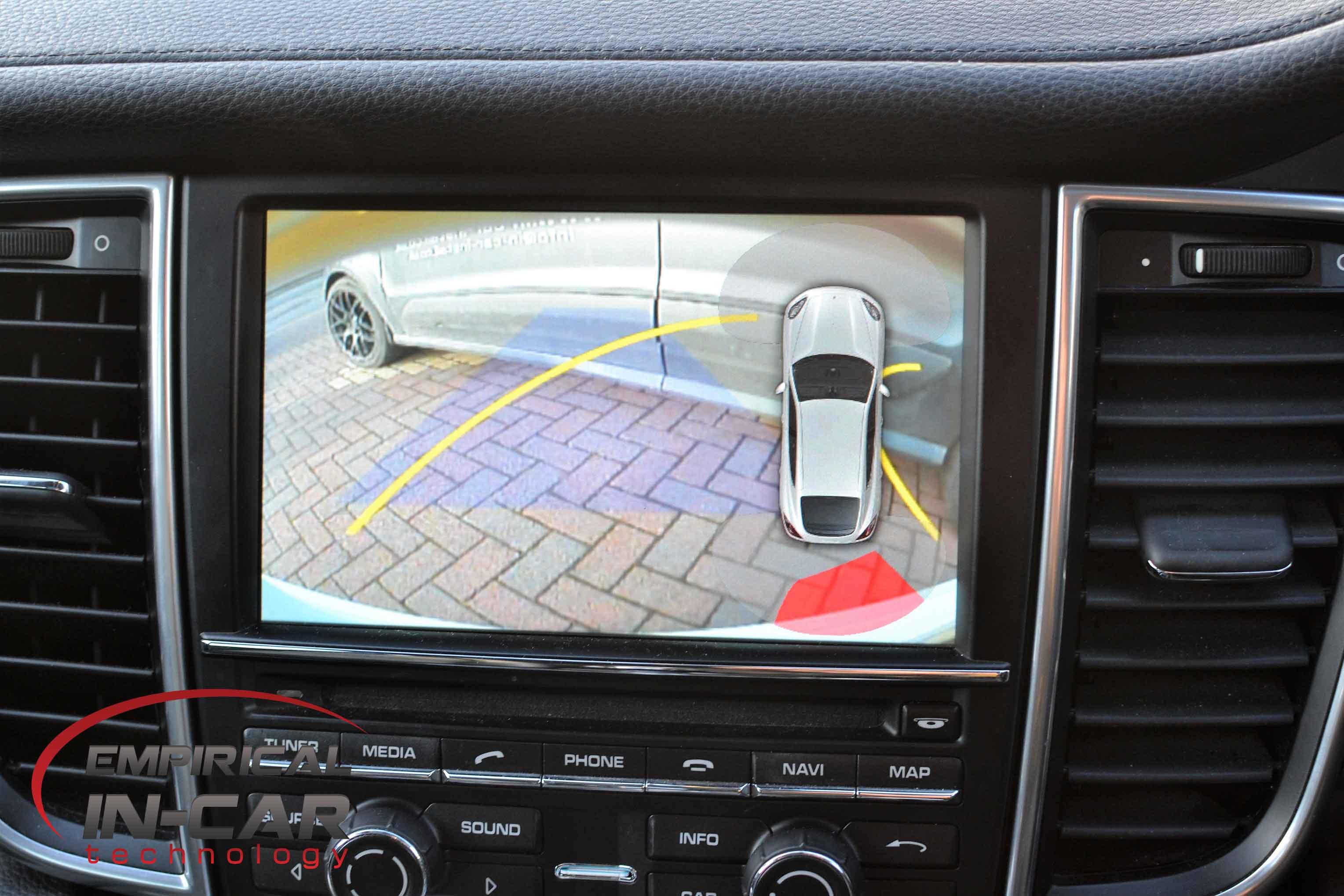 Porsche PCM 3.1 Reverse Camera