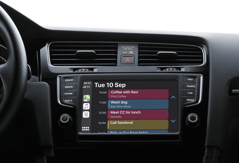 CarPlay Calendar